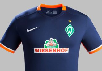 Nike presents modern Werder Bremen Away Kit for 2015-16