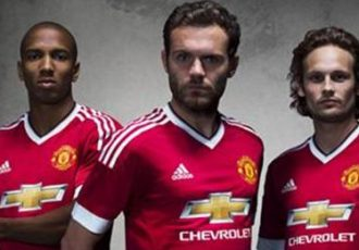 The new Manchester United Home Kit by adidas