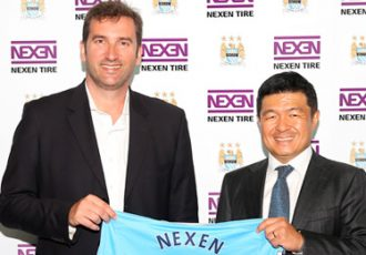 Nexen Tire signs Official Tire Partnership with Manchester City