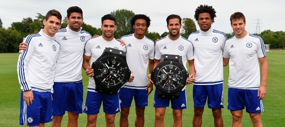 Hublot named Official Timekeeper and Official Watch of Chelsea FC