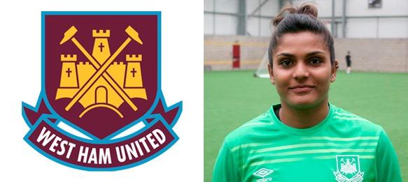 Aditi Chauhan (West Ham United Ladies FC)
