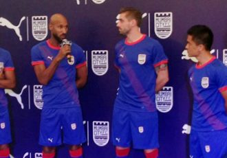 Mumbai City FC presents new PUMA home kit for ISL Season 2