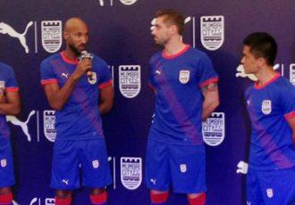 Mumbai City FC presents new PUMA home kit for ISL Season 2