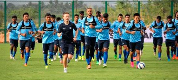 Indian national team uses GPS trackers for the very first time