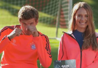 adidas Gamedayplus: Thomas Müller and Alena Gerber