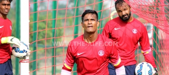 Indian national team goalkeeper Subrata Paul