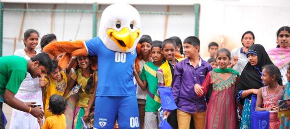 Bengaluru FC launch social initiative in 'BFC Cares'