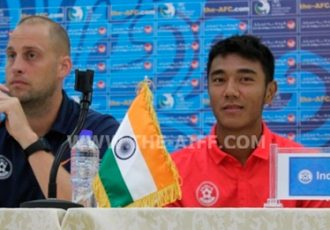 India U-19 coach Lee Johnson