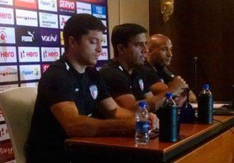 NorthEast United FC press conference