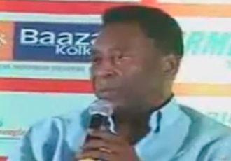 Pelé attends Atlético de Kolkata Press Conference