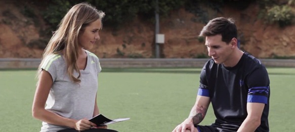 adidas Gamedayplus: Alena Gerber and Lionel Messi