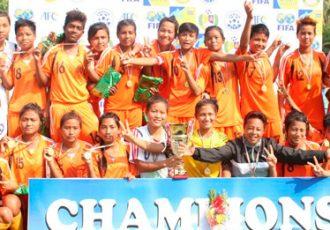 Manipur - 2015 Junior National Championship for U-18 Girls Champions