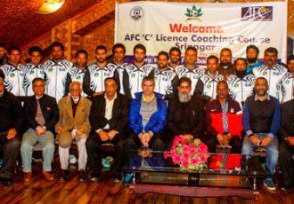 AFC C License Certificate Course held in Srinagar