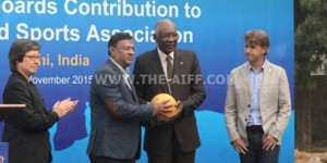 AFC donation brings joy of football to disadvantaged children in India