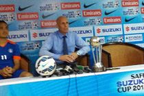 Sunil Chhetri and Stephen Constantine