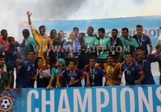 India crowned Champions of SAFF Suzuki Cup 2015