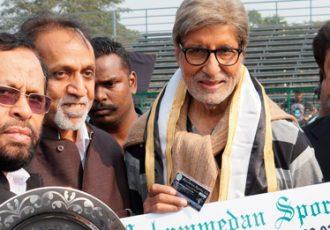 Mohammedan Sporting bestow Amitabh Bachchan with Life-Time Membership