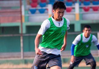 Bengaluru FC striker Kim Song Yong