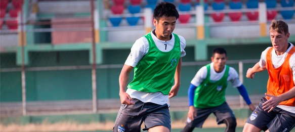 Bengaluru FC striker Kim Song Yong