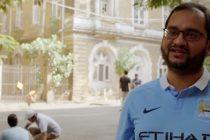 Arunava Chaudhuri in Manchester City's #GlobalCityFans