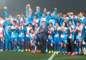 Indian Women's team win Gold in South Asian Games