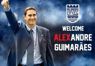 Alexandre Henrique Borges Guimarães named Mumbai City FC coach