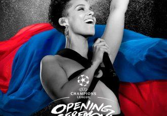 Alicia Keys to perform at UEFA Champions League Final