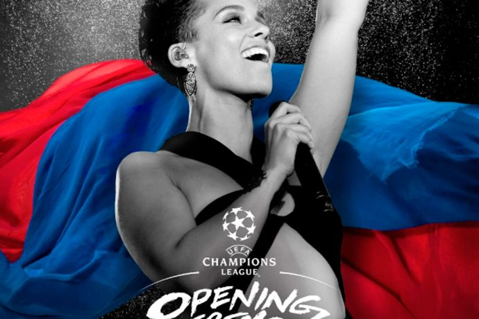 Alicia Keys to perform at UEFA Champions League Final