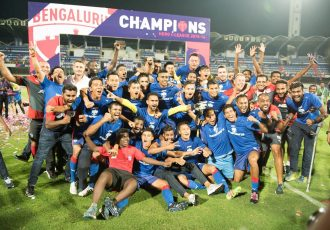 Bengaluru FC win second I-League title in three years