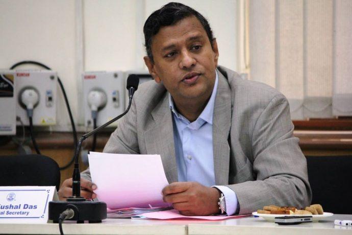 Kushal Das (General Secretary, AIFF)