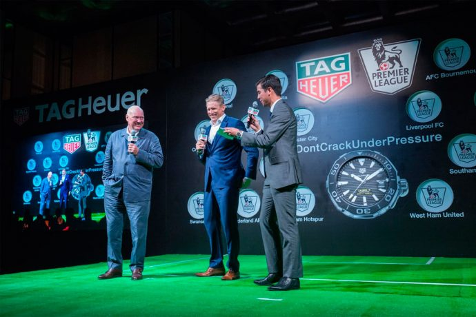 TAG Heuer signs with the Premier League