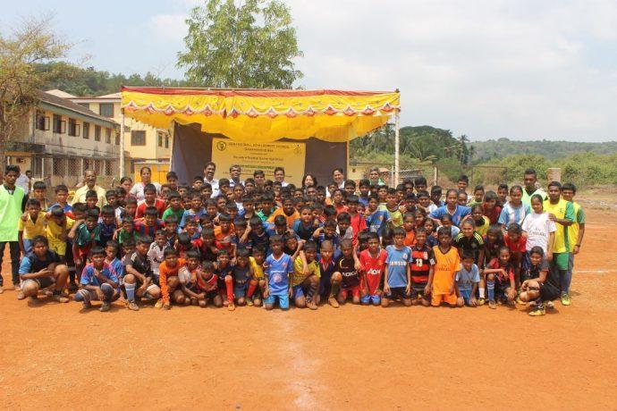 Goa Football Development Council opens 37th Grassroot Football Development Center