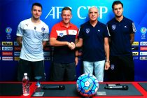 Bengaluru FC Performance Analyst Matthew Holland and midfielder Michael Collins were in attendance at the pre-match press conference ahead of Wednesday's AFC Cup clash between BFC and Johor Darul Ta'zim.