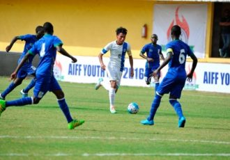 AIFF Youth Cup: India U-16 v Tanzania U-17