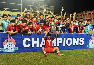 Korea Republic down United States to lift inaugural AIFF Youth Cup 2016
