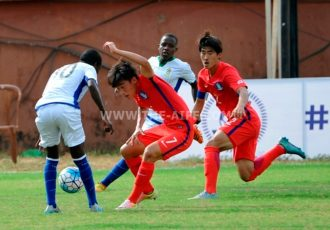 AIFF Youth Cup: Korea Republic play 2-2 draw against Tanzania