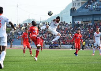 Match action from the Hero Federation Cup 2016 encounter Aizawl FC v Sporting Clube de Goa.