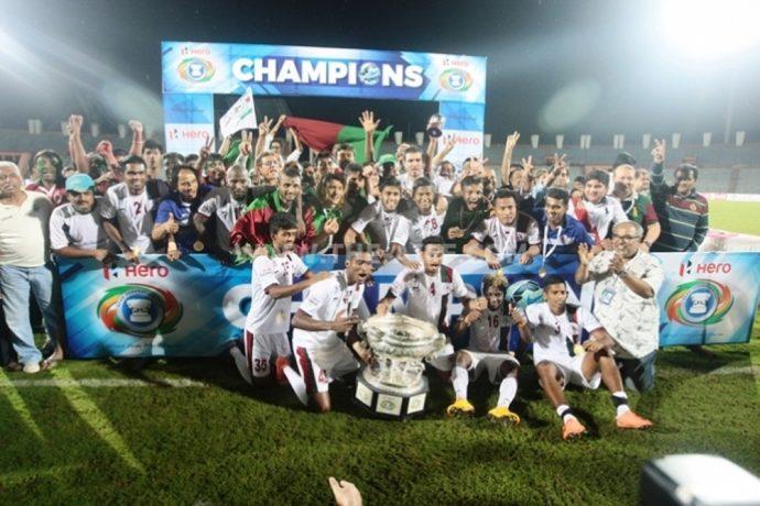 Five star Mohun Bagan lift Hero Federation Cup 2016