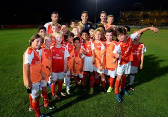Arsenal & Germany star Mesut Özil brings football fever to Dubai