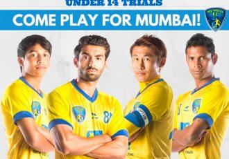Mumbai FC trials for Under-14 boys