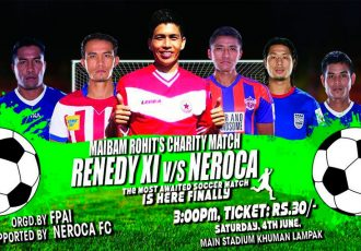 NEROCA FC to face Renedy XI in Maibam Rohit Charity Match