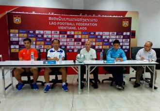 Laos v India AFC Asian Cup 2019 Qualifier Pre-Match Press Conference