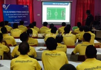 FIFA-MA Referees Fitness Course kicks-off in Gandhinagar