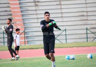 India goalkeeper Gurpreet Singh Sandhu