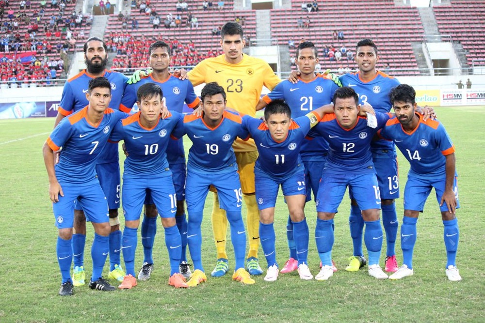 India reaches best FIFA World Ranking in over a decade