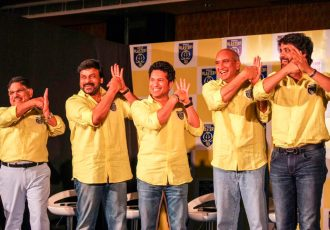 Indian film industry biggies join Sachin Tendulkar as Kerala Blasters co-owners