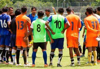 Mohammedan Sporting Club training