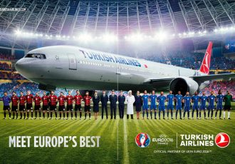 Turkish Airlines creates inflight experiences to celebrate UEFA EURO 2016