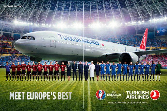 Turkish Airlines creates inflight experiences to celebrate UEFA EURO 2016