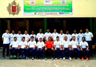 AFC B-Licence Course in Hoshiarpur